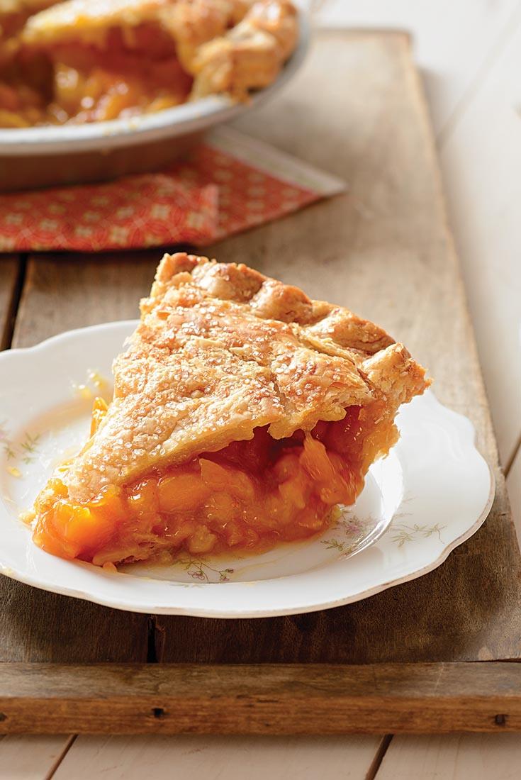 Anytime Peach Pie Recipe