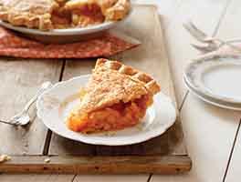 Anytime Peach Pie