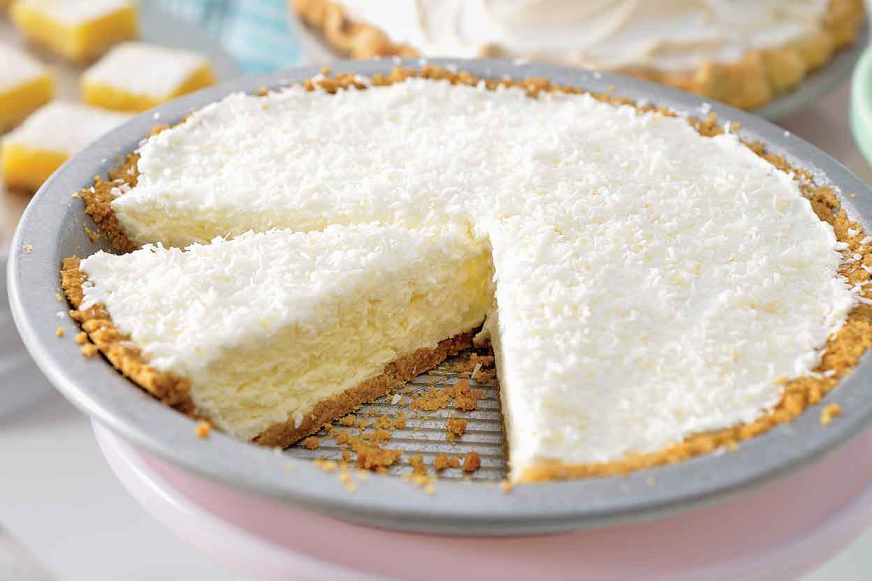 Creamy Coconut Pie Recipe | King Arthur Flour
