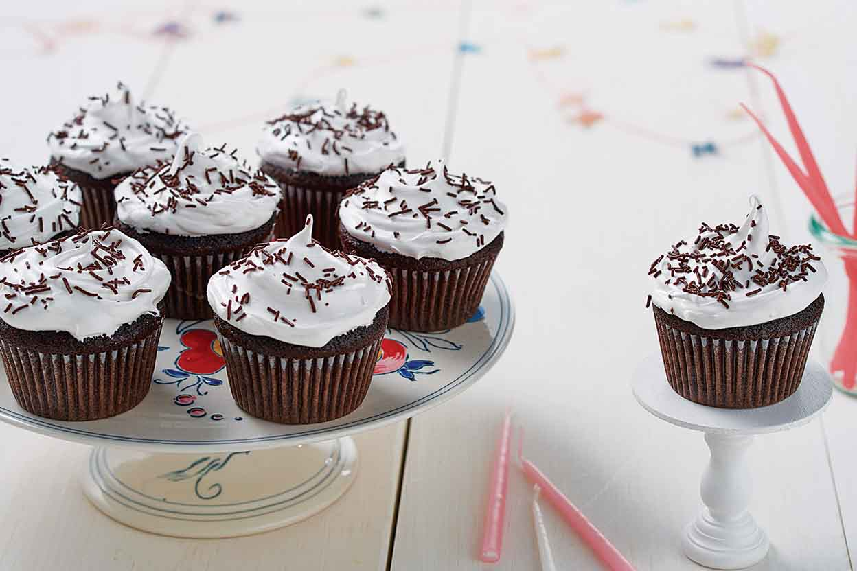 Favorite Fudge Birthday Cupcakes with 7-Minute Icing Recipe | King on raley's bakery cakes, cardenas bakery cakes, jungle jim's bakery cakes, stew leonard's bakery cakes, randall's bakery cakes, gelson's bakery cakes, food 4 less bakery cakes, kmart bakery cakes, fareway bakery cakes, king kullen bakery cakes, sam's club bakery cakes, dillon's bakery cakes, shaw's bakery cakes, save mart supermarkets bakery cakes, food city bakery cakes, tops bakery cakes, ralph's bakery cakes, stop & shop bakery cakes, lowe's bakery cakes, winco bakery cakes,