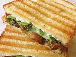 Grilled Summer Vegetable Panini