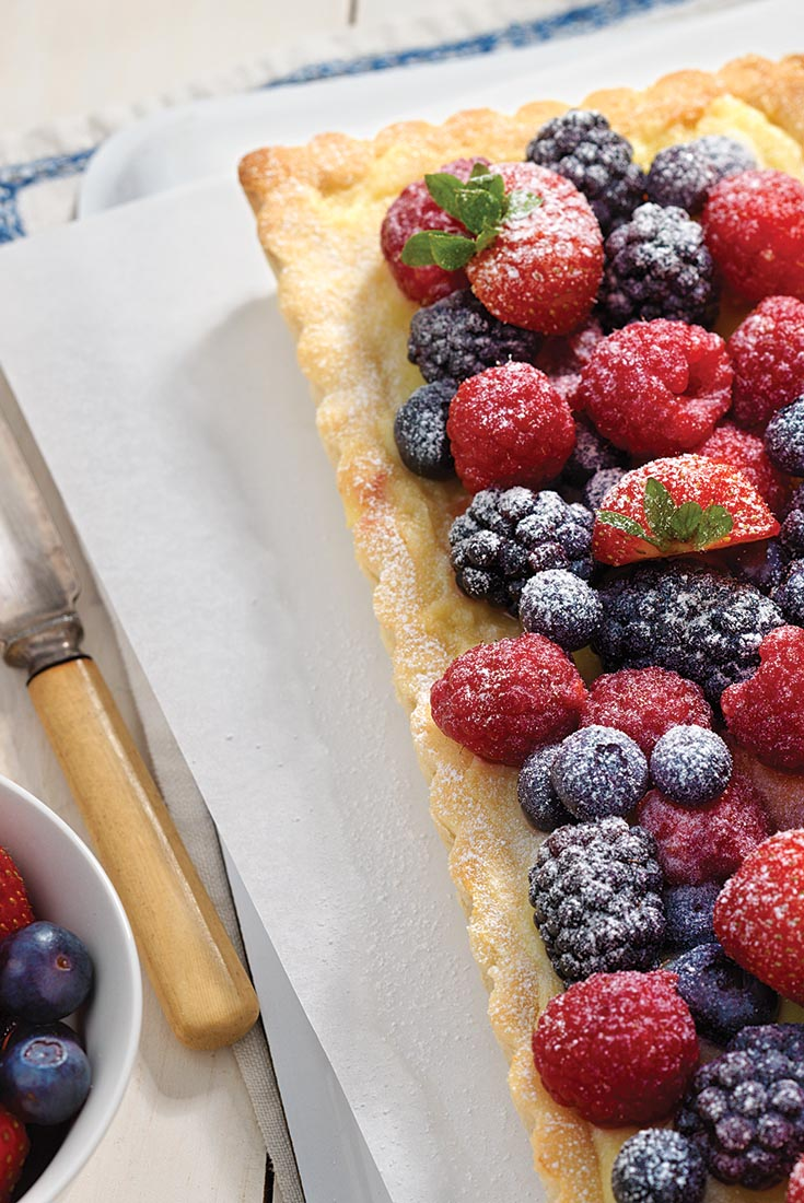 Berries and Creme Tart Recipe