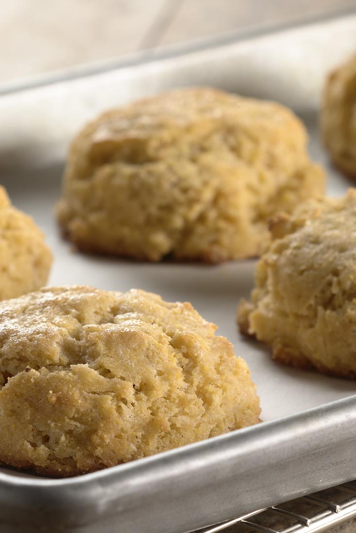 Gluten-Free Ancient Grains Drop Biscuits  Recipe