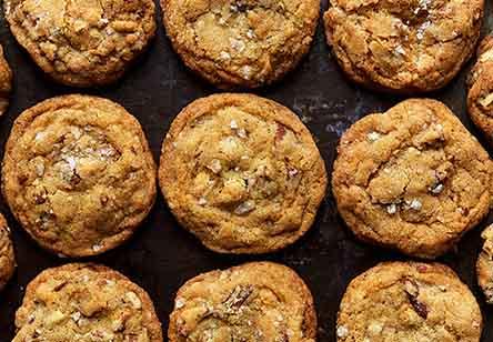 Salty-Sweet Butter Pecan Cookies