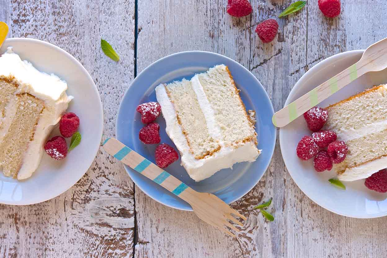 Tender White Cake Recipe | King Arthur Flour