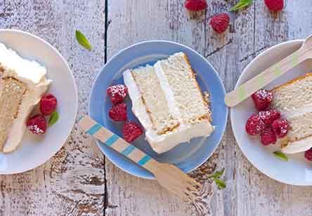 Tender White Cake
