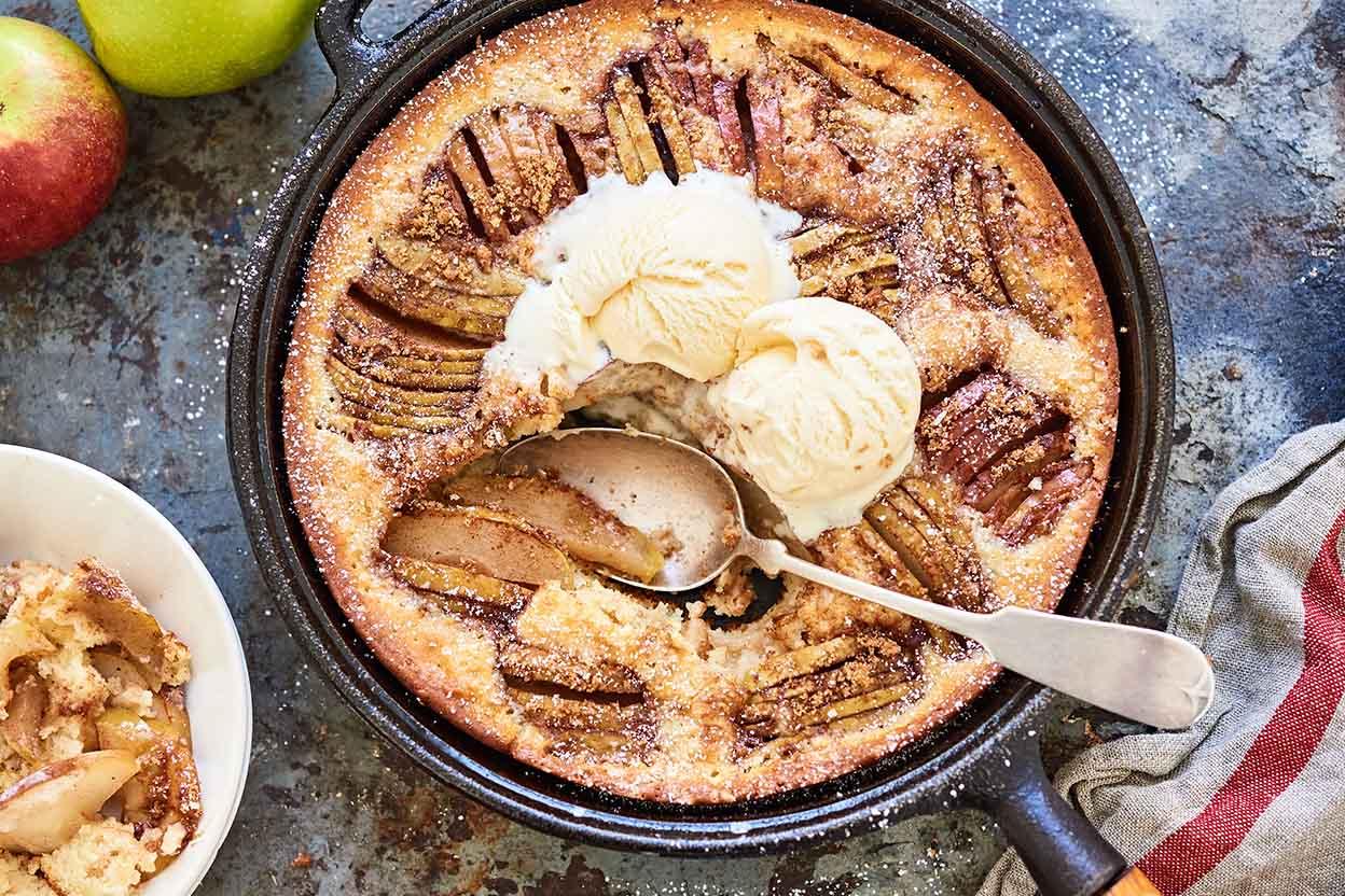 Apple Syrup Cake Recipe