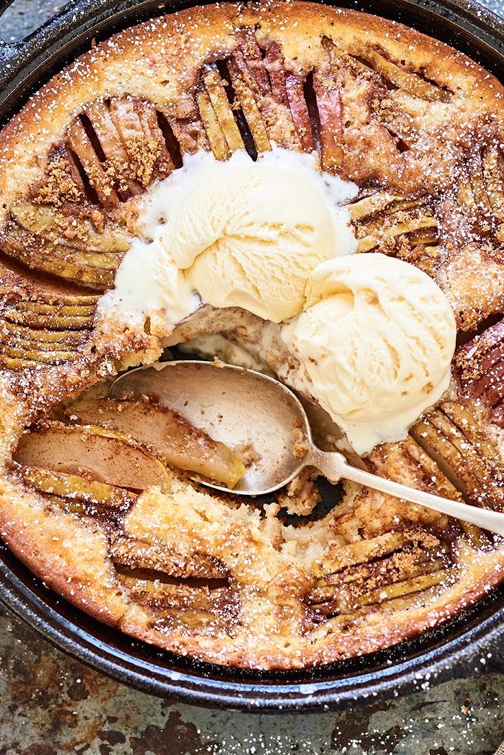 Apple Skillet Cake   Recipe