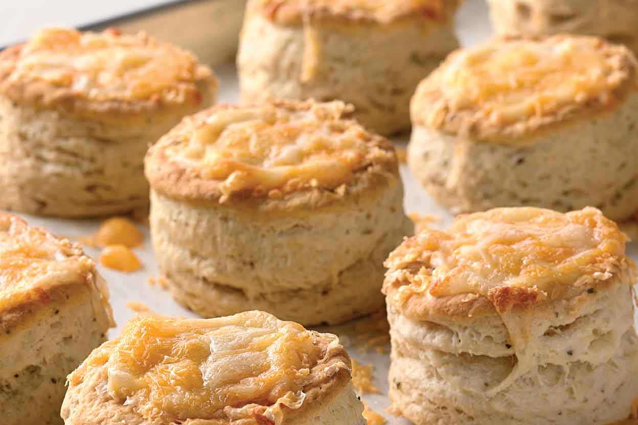 Bakewell Cream Biscuits Recipe | King Arthur Flour