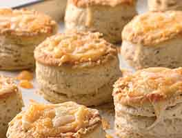 Bakewell Cream Biscuits
