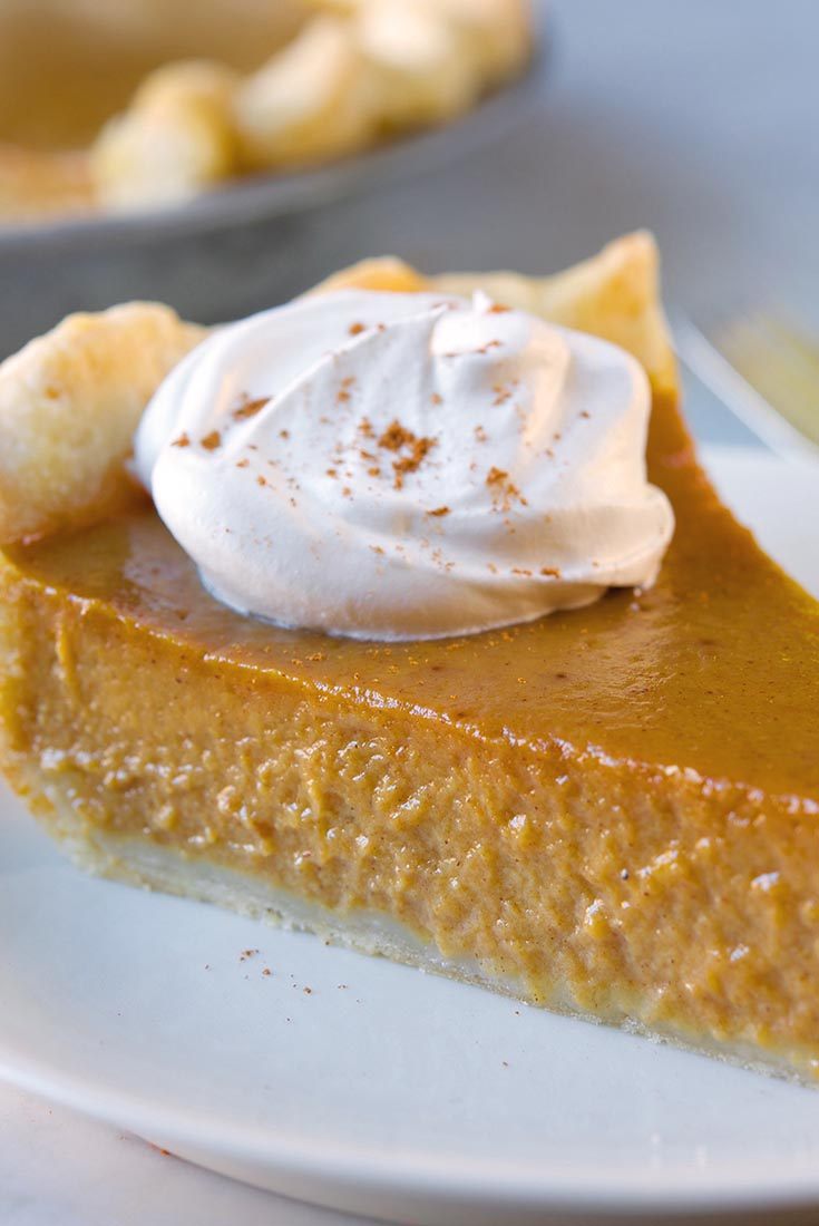 Smooth and Spicy Pumpkin Pie    Recipe