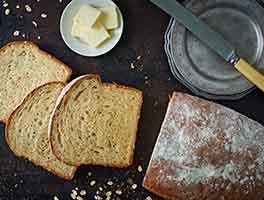 Back-of-the-Bag Oatmeal Bread