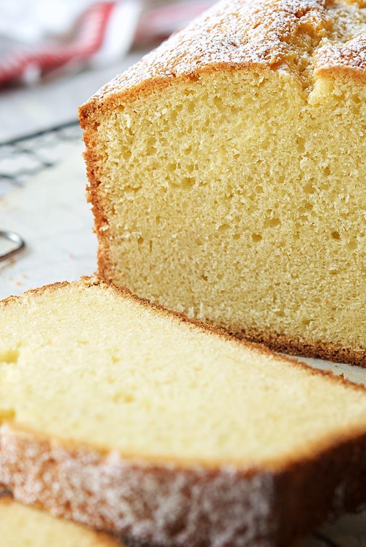 Velvet Pound Cake Recipe