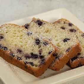 Dante's Blueberry Bread