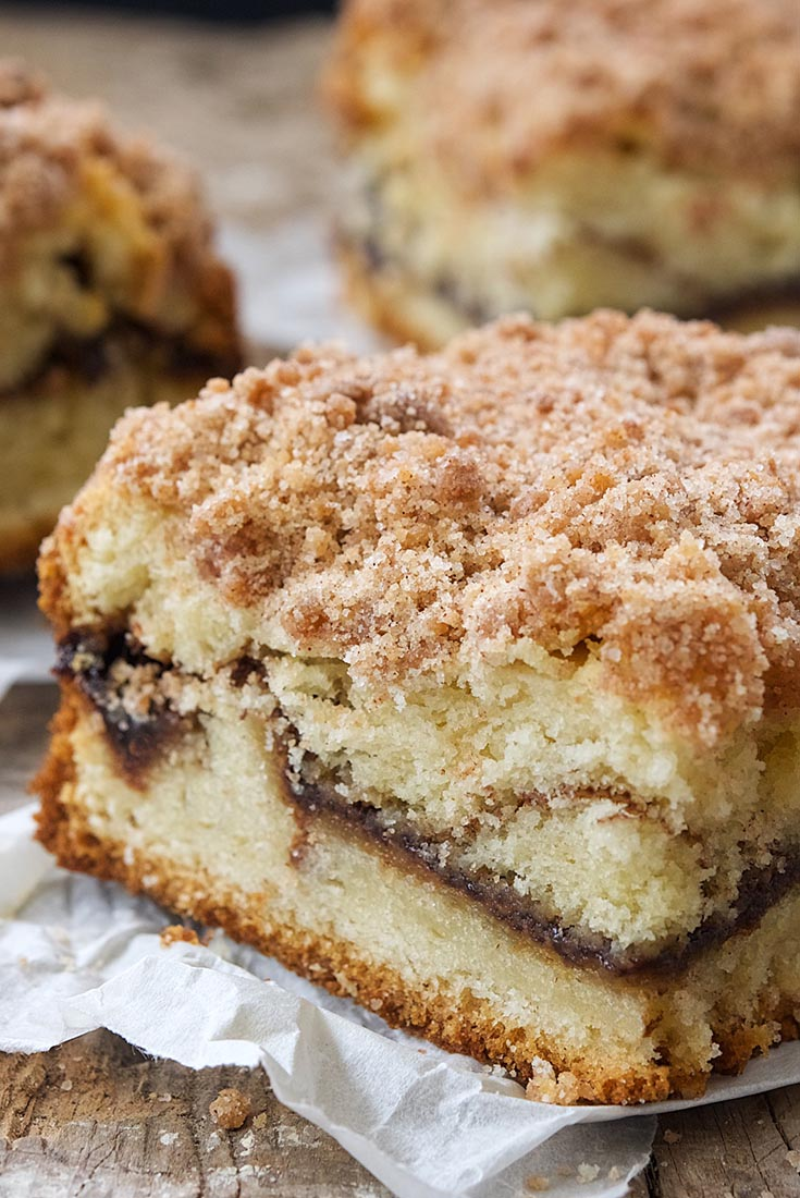 Cinnamon-Streusel Coffeecake Recipe