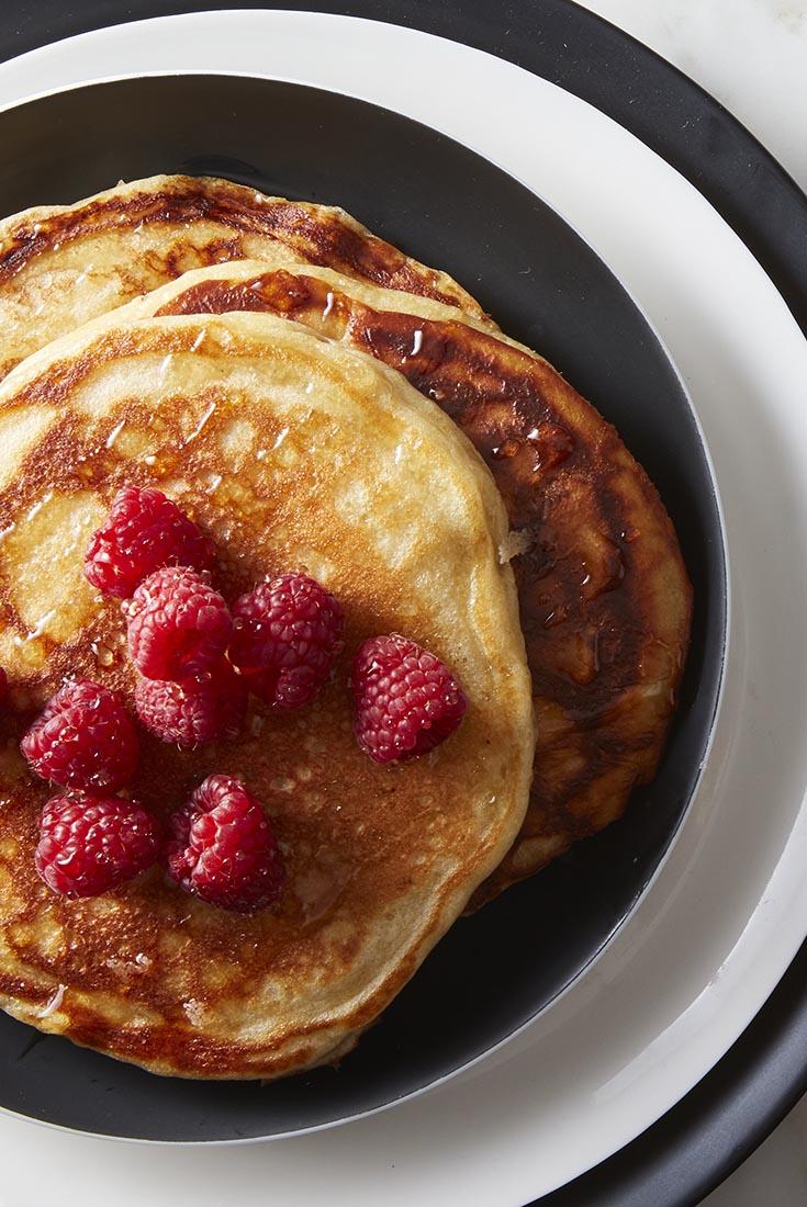 Oat & Yogurt Pancakes   Recipe