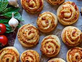 Pizza Party Buns