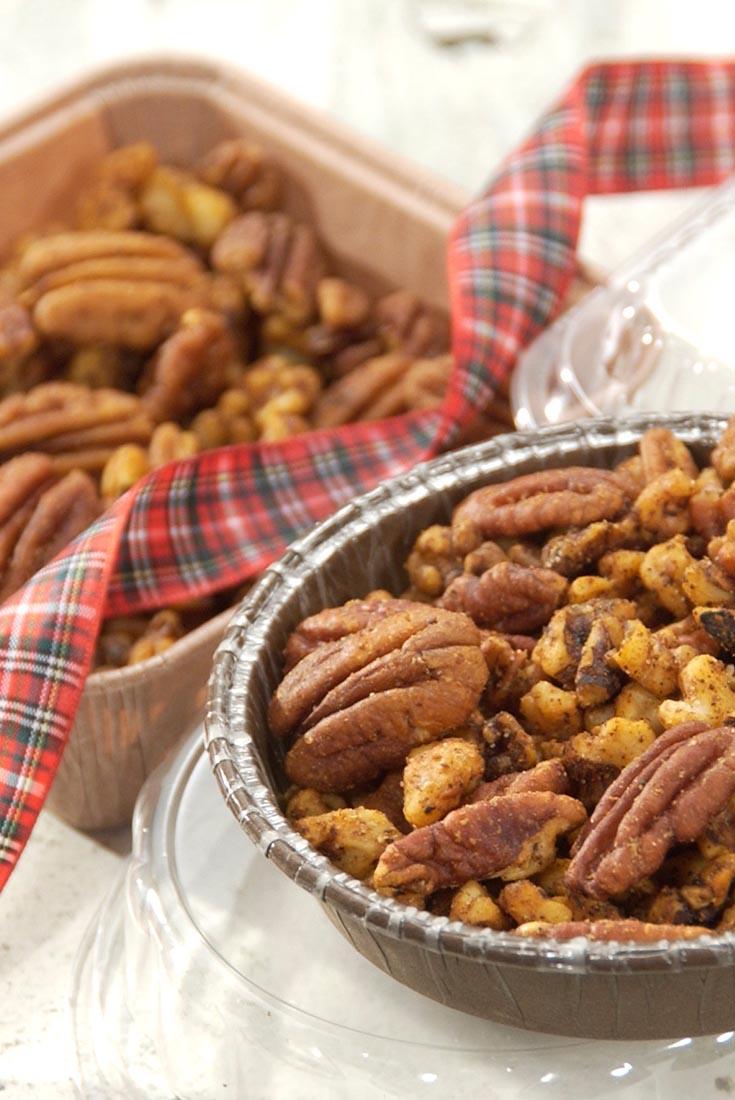 Sweet Vanilla Spiced Pecans Recipe