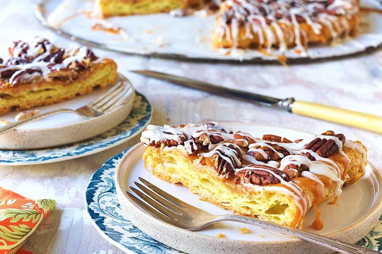 Pecan Danish Cake Recipe