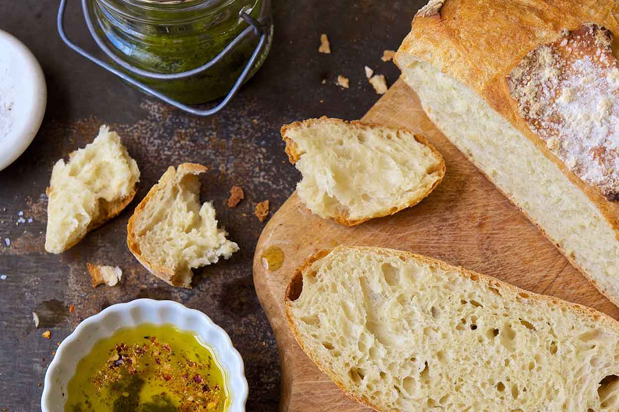No knead crusty white bread recipe king arthur flour forumfinder Gallery