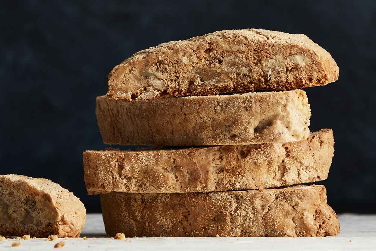 Maple-Walnut Biscotti Recipe | King Arthur Flour