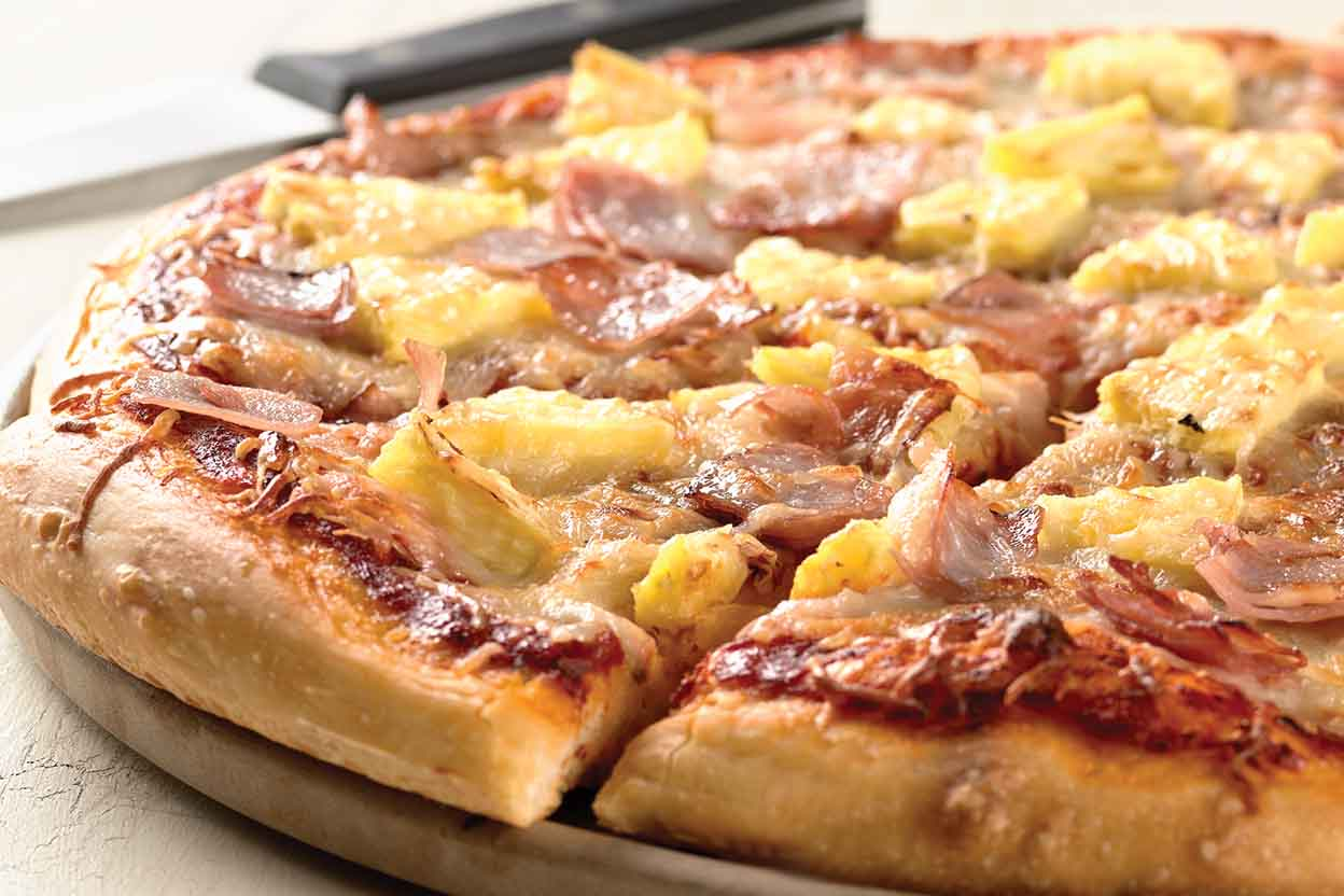 Image result for hawaiian pizza