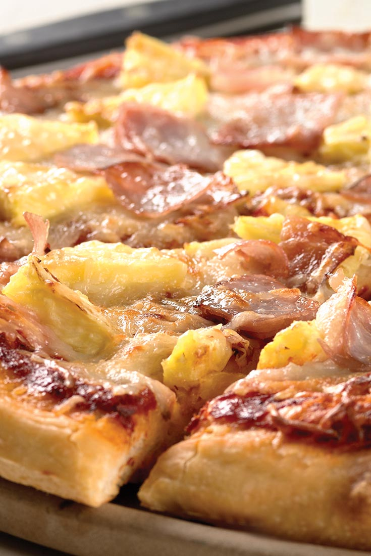 Did you know Hawaiian pizza is the most popular pizza in Australia, accounting for a full 15% of all pizza sales? And it's a popular choice in this country, as well; though far from ousting pepperoni from the top spot, this ham-pineapple concoction has been making steady inroads, particularly among kids.5/5(4).
