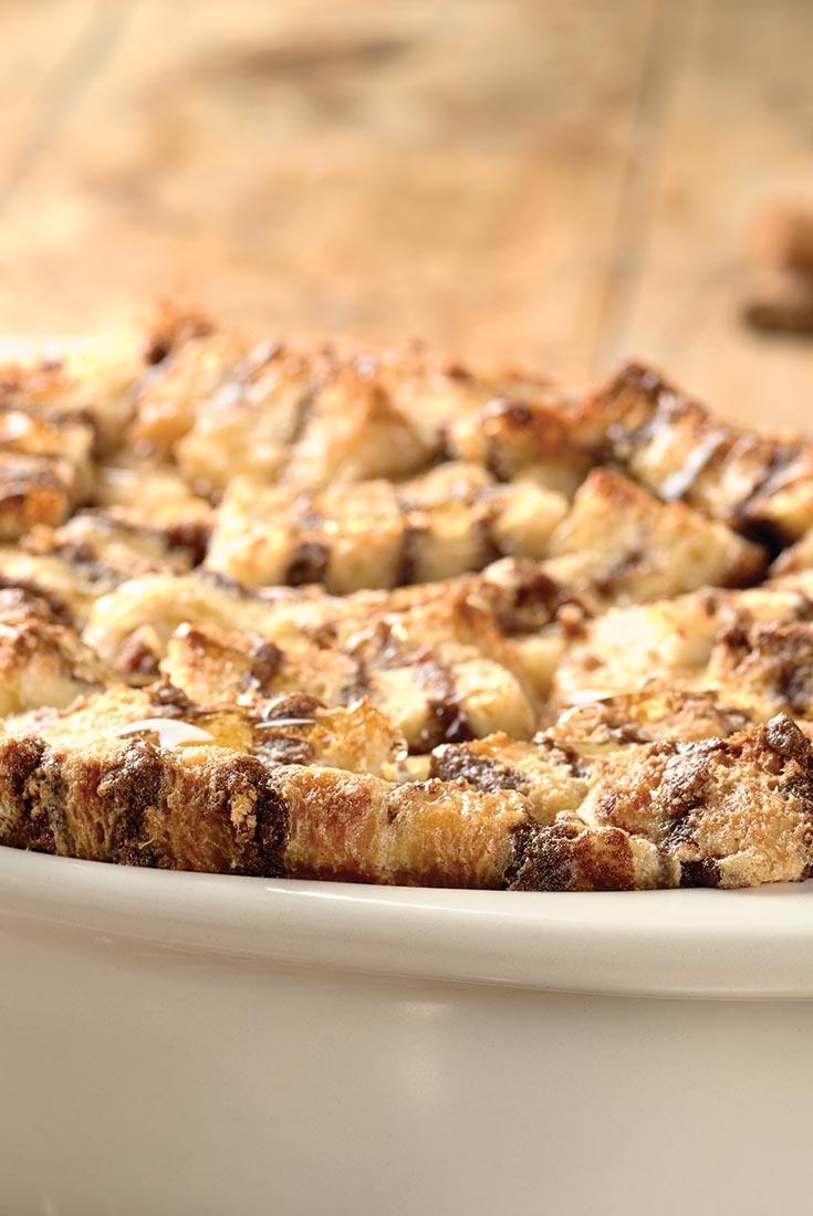 Cinnamon-Filled Bread Pudding Recipe