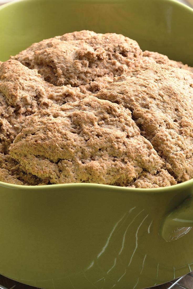 Irish Buttermilk Brown Bread Recipe