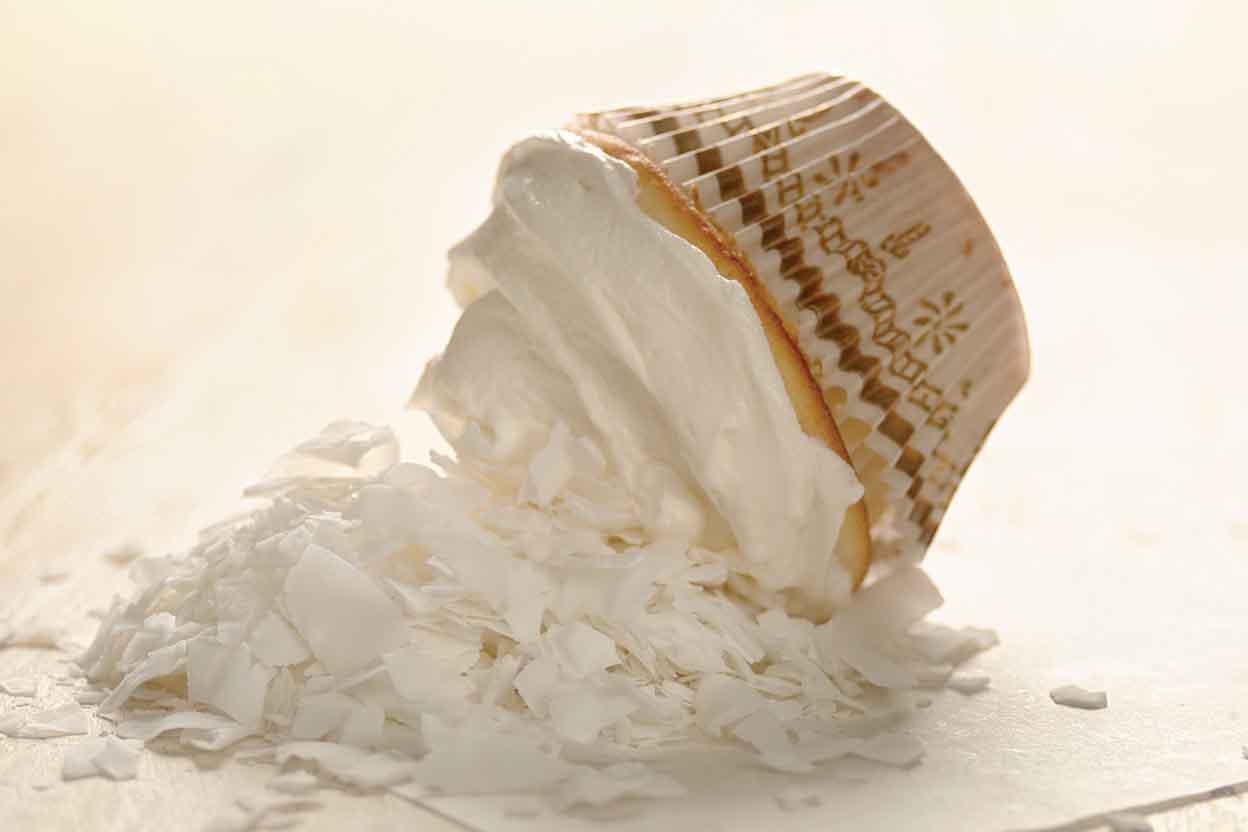 White Cake Recipe King Arthur: White-on-White Coconut Cupcakes Recipe