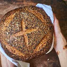 Multigrain Sourdough Boule