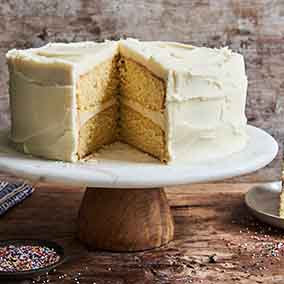 Golden Vanilla Cake