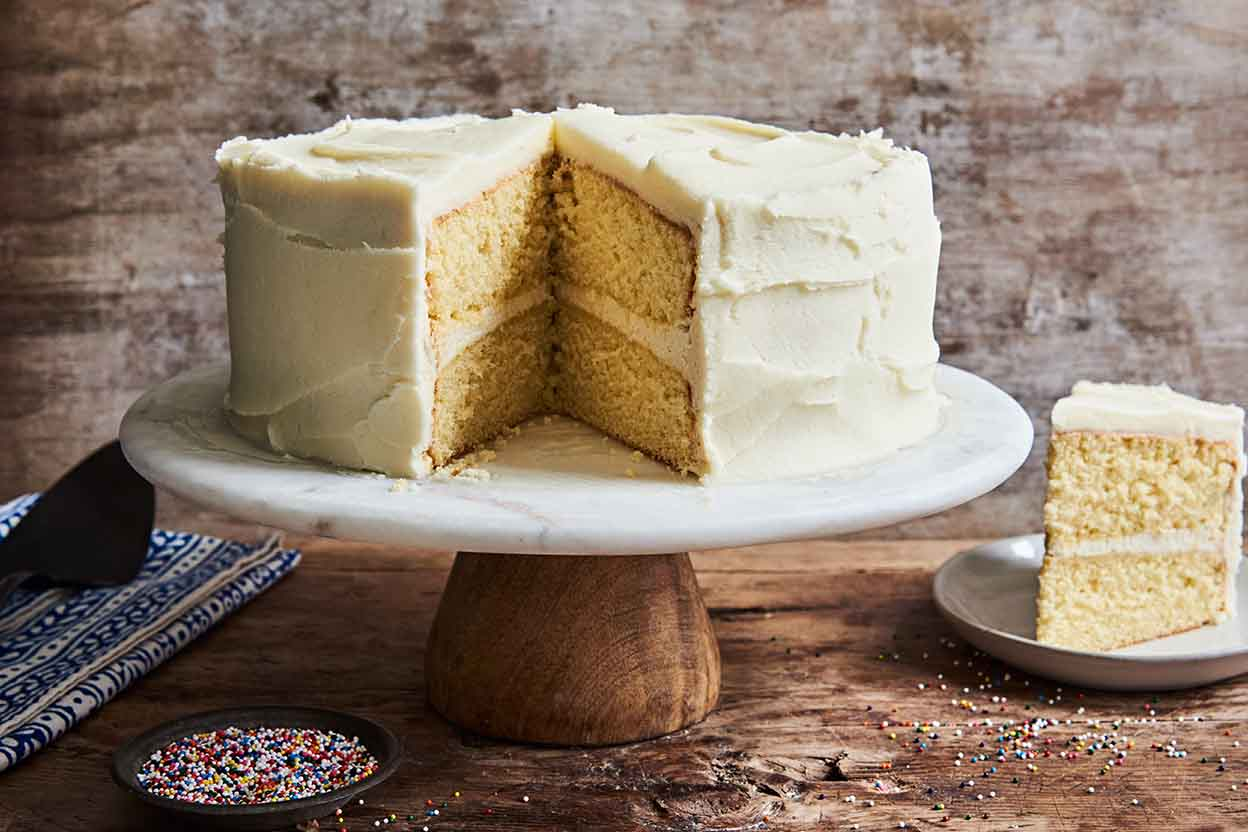 Yellow Cake Almond And Coconut Flour