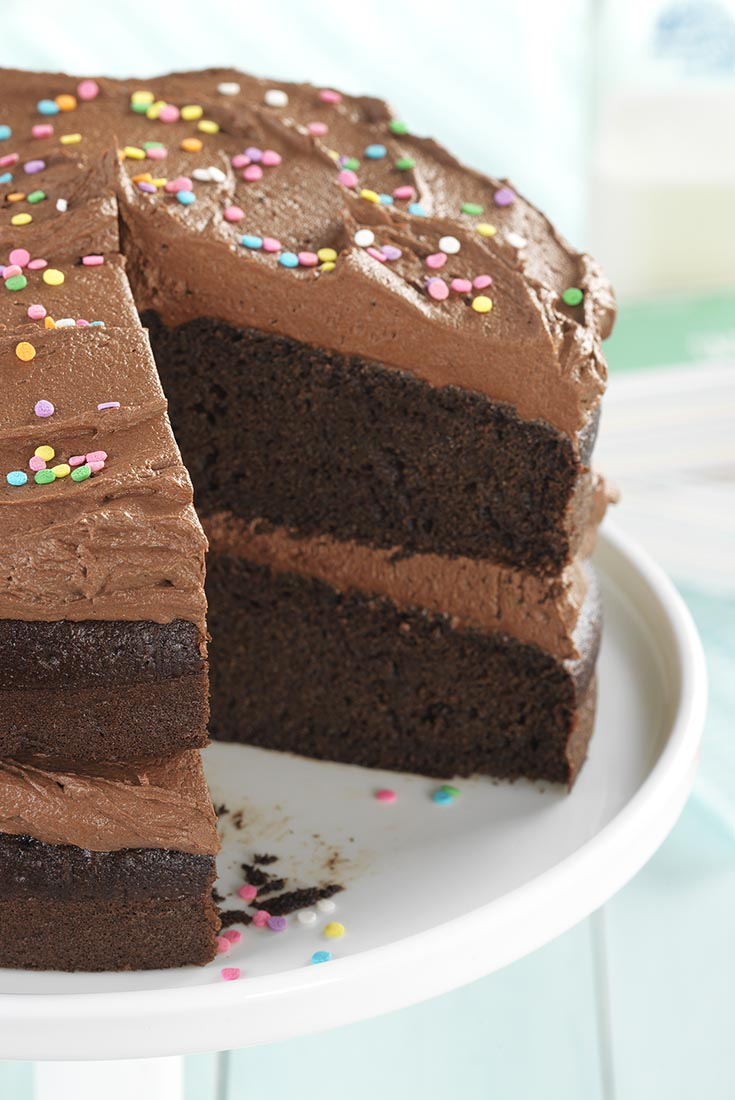 Gluten-Free Chocolate Cake Recipe | King Arthur Flour