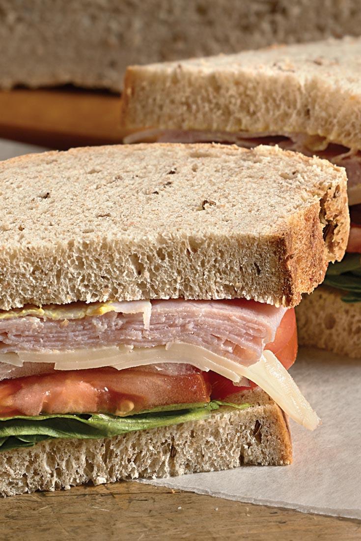 Seeded Rye Sandwich Bread Recipe