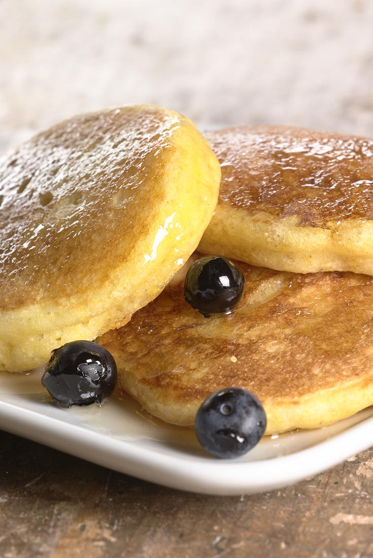 Gluten-Free Lemon Pancakes Recipe
