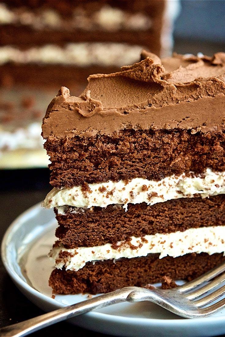 Fudgy Coconut Cream Cake Recipe