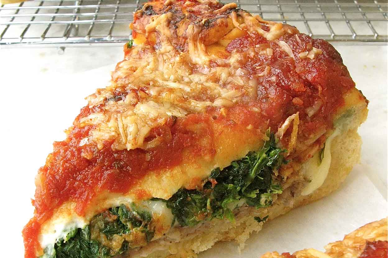 Cooking Stuffed Bread - Pizza 88