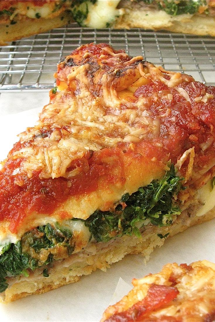 Stuffed Pizza Recipe