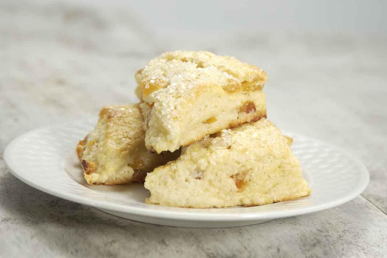 Apricot Cream Cheese Scones Recipe King Arthur Flour