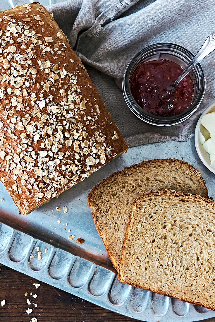 Honey Oatmeal Bread Recipe