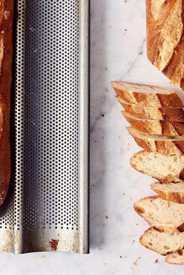 Baguette Pan Baguettes  Recipe