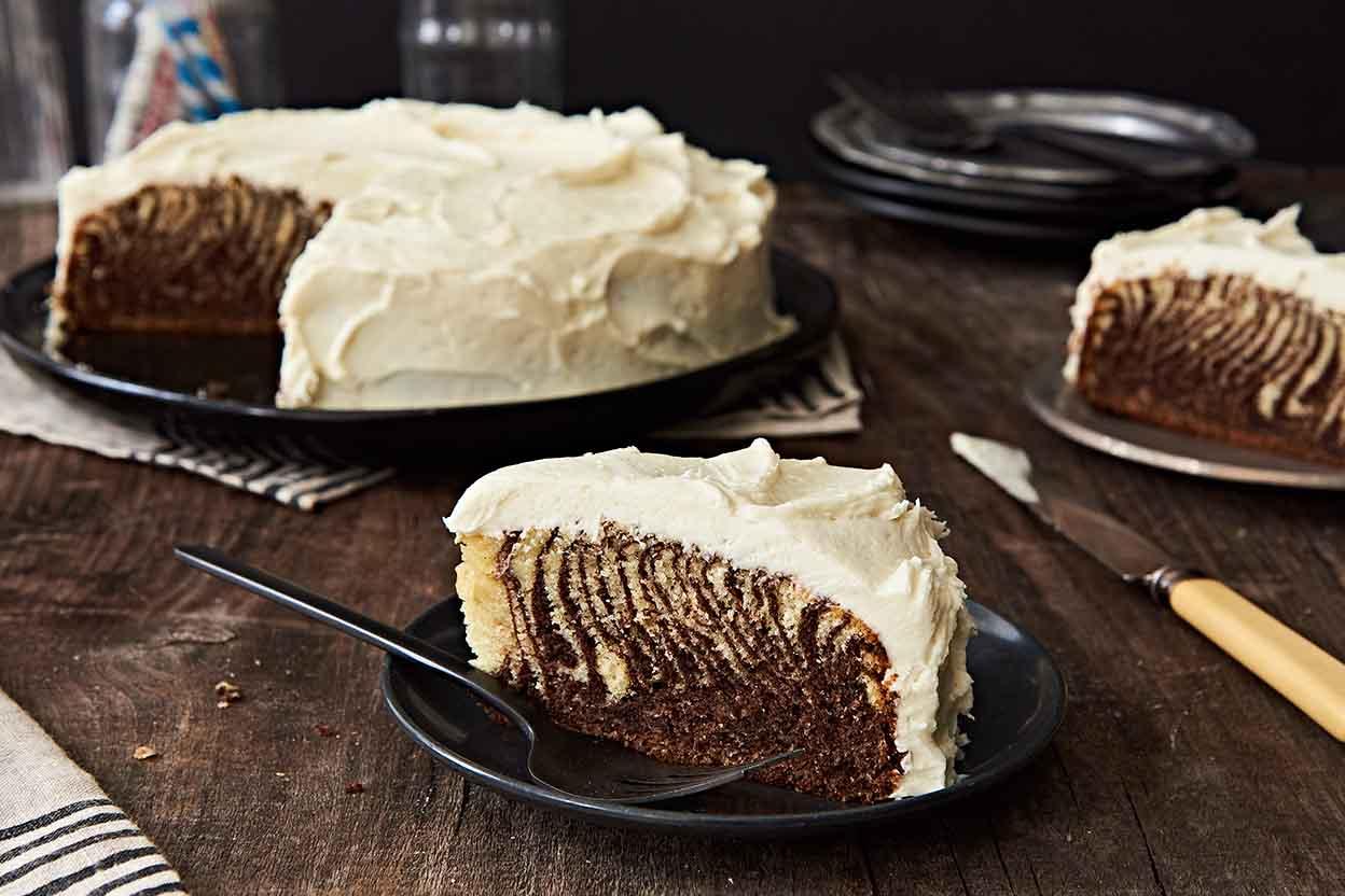 Zebra Cake Recipe King Arthur Flour
