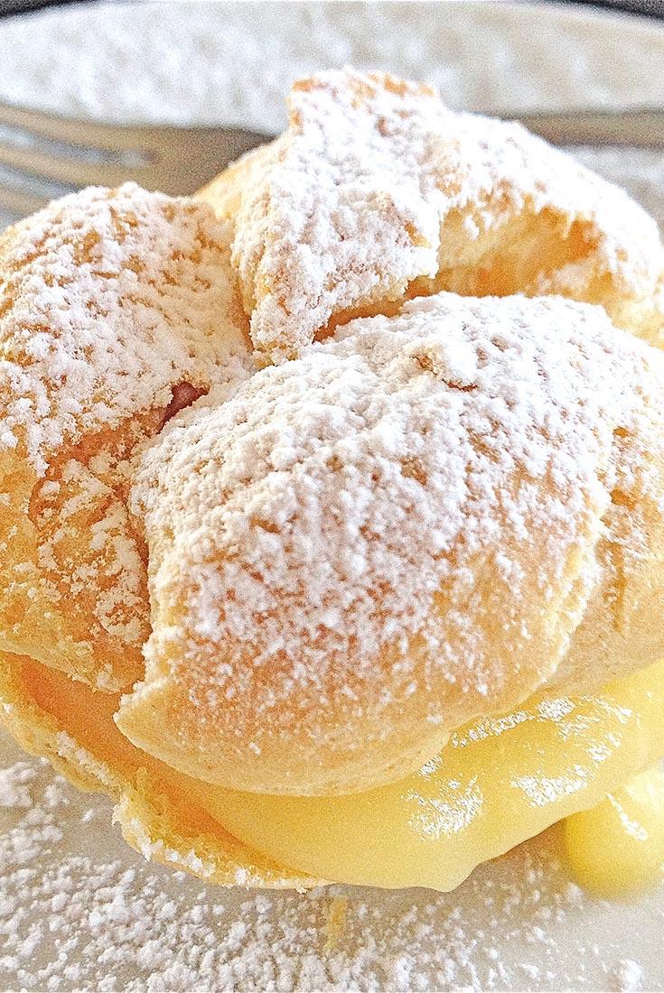 Whole Grain Cream Puff Pastry Recipe