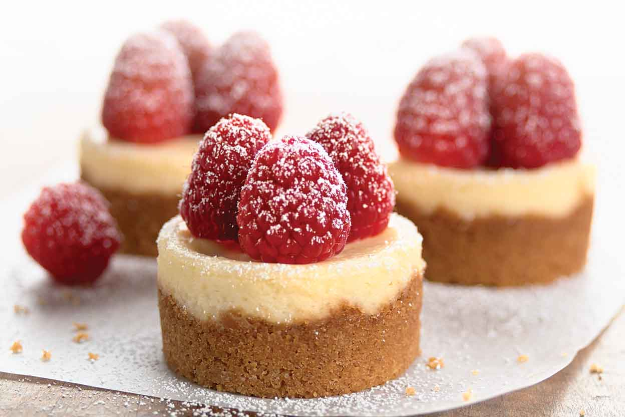 Mini Cheesecakes Recipe | King Arthur Flour