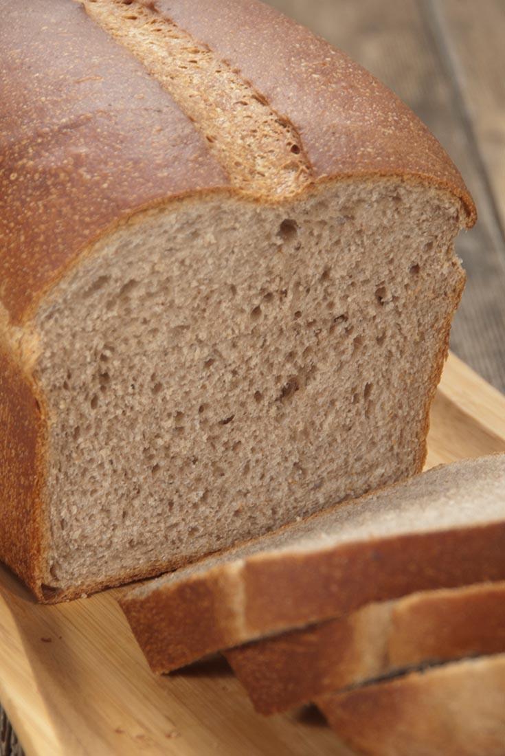 Soft Sandwich Bread with Flax Recipe