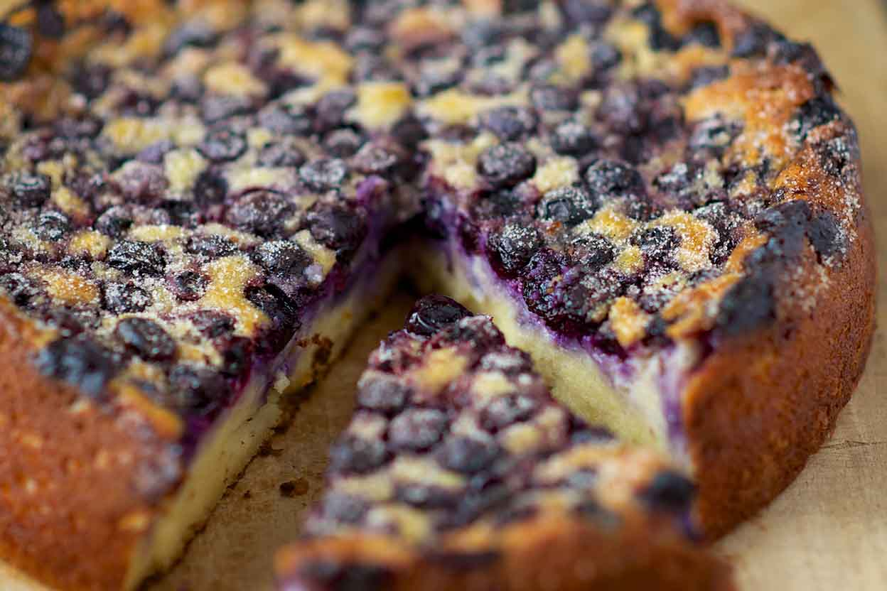 Easy Coffee Cake Recipe King Arthur: Almond Meal And Blueberry Cake Recipe