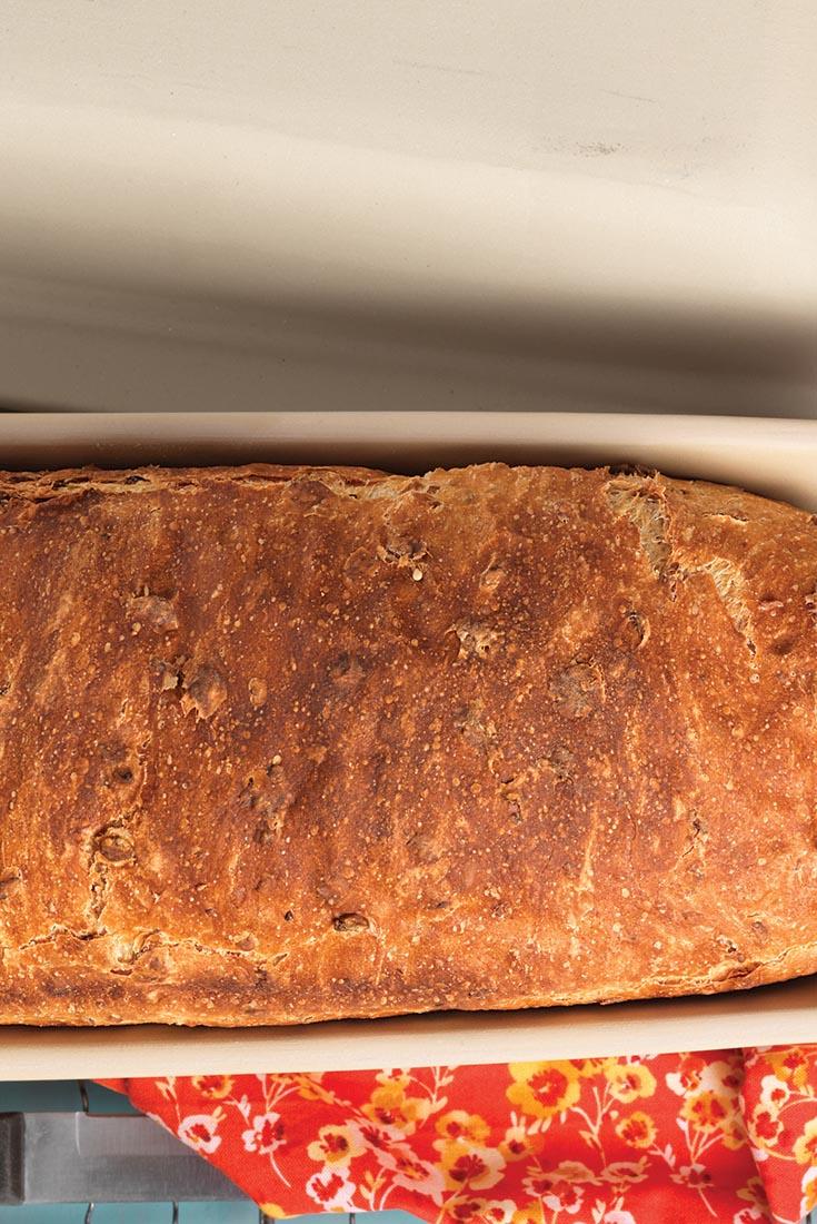 Malted Wheat Flake Bread Recipe