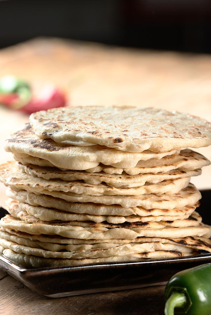 Soft Flour Tortillas Recipe