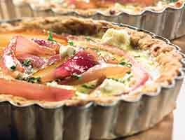 Red Onion and Balsamic Tart